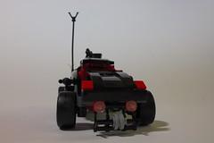 Bullet Spinner- Front (BlueShift 12) Tags: macro toy lego brickarms gibrick