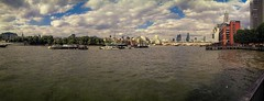 Riverama (Мaistora) Tags: city uk bridge england sky panorama london tower water mobile thames skyline clouds river boats flow day cityscape phone skyscrapers stitch cloudy britain sony tide stpauls cellphone southbank smartphone ripples process postprocess sweep android pse edit oxo blend topaz oxotower lightroom incamera maistora yahoomapssuck xperia sweeppanorama yahoo:yourpictures=weather xperias notholborn