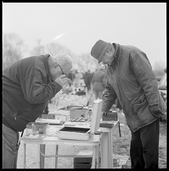 Flea Market March 2015 ii (_-0-_) Tags: white black film market cm 150 hasselblad medium format 500 flea flohmarkt sonnar