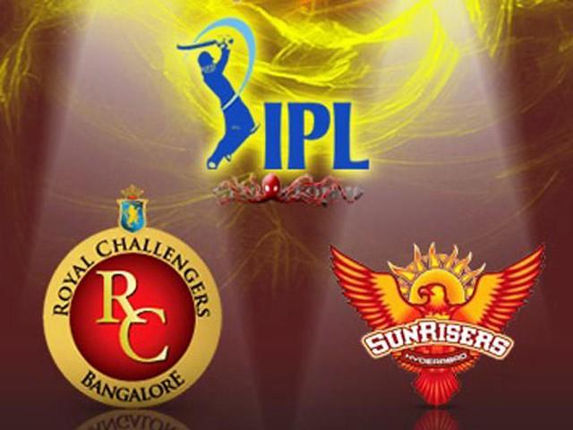 Royal Challengers Bangalore vs Sunrisers Hyderabad