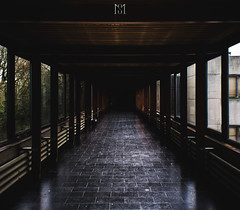 Unlimited (Minhson Nguyen) Tags: wood light architecture way interior corridor slide marble unlimited liege perpective ulg