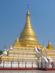 Golden Stupa Mandalay