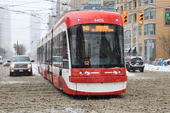 TTC Flexity Streetcar #4405 (SteveC123!) Tags: new toronto ttc outlook spadina streetcar 510 bombardier