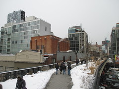 High Line Snow Covered Railroad Overpass Tracks to Nowhere 8608 (Brechtbug) Tags: road park street new york city nyc railroad winter urban snow streets west art architecture garden way design march high downtown gallery path walk manhattan district balcony packing side nowhere tracks overpass rail pedestrian mini el meat line midtown covered mezzanine transportation boardwalk former elevated blizzard derelict reclamation highline skyway redesign the remodeled 2015 03072015
