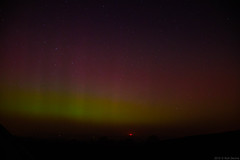 Aurora north of Cheltenham, UK (Xana Seven) Tags: sky night stars aurora northernlights borealis