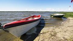 2016-07-17_02-13-42 (wiktor_furmaniak) Tags: lake sarbsko eba poland sky clouds passionphotography wideangle boats sony alpha65 beach sand absolutelyperrrfect