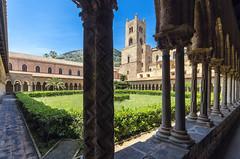 Monreale cloister (Fil.ippo (AWAY)) Tags: monreale cloister palermo sicily church architecture filippobianchi d7000 medieval filippo duomo sigma1020