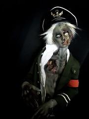 Commander Lazarus (Sadomina) Tags: doll bjd abjd balljointeddoll ringdoll sadomina zombie horror gore undead creepy halloween corpse nazizombie