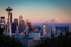 Kerry Park Seattle (e.nord92) Tags: seattle washington state landscape cityscape city mountains mount rainier