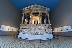Nereid monument, British Museum (Digital Biology) Tags: nereidmonument britishmuseum fisheye greece
