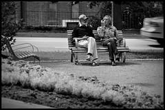 Somewhere on my way @ Sweden - 2016/06/21 (Geert Haelterman) Tags: geert haelterman streetphotography straatfotografie photographiederue photoderue fotografadecalle fotografiadistrada strassenfotografie candid streetshot monochrome black white blackandwhite zwart wit sweden svenska nikon d90
