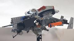 Wraith U (BadHandle) Tags: lego gunship cyberpunk scifi vtol