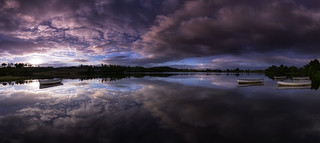 Dawn on Loch Rusky
