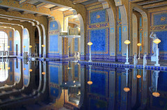 The Roman Pool at Hearst Castle (zgrial) Tags: california usa reflection mosaic swimmingpool hearstcastle ornate tiled romanpool smalti zgrial