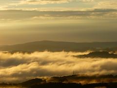 Traumland (isajachevalier) Tags: nebel natur wolken sachsen landschaft sonnenaufgang schsischeschweiz elbsandsteingebirge panasonicdmcfz150
