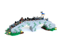 Aindrea Bridge (soccersnyderi) Tags: brickfairva yeoldmerrybattleground innovalug battle bridge lego castle medieval creation moc design snot