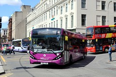 67104 SN16OSM First Glasgow (busmanscotland) Tags: 67104 sn16osm first glasgow sn16 osm airport express ad adl alexander dennis enviro 200 200mmc e200 mmc e200mmc
