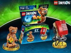 LEGO Dimensions 71258 Fun Pack E.T. l'extra-terrestre (hello_bricks) Tags: et lego dimensions legodimensions 71258 funpack pack videogame jeuvido extraterrestre alien phone tlphone