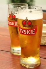 Tyskie (rhurril) Tags: beer poland tyskie krakow drink refreshing pint
