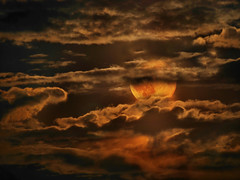 P1820068 - July Moon (Bine&Minka2007) Tags: wolken vollmond july moon cloud clouds nacht nachtlandschaft night