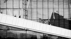 Oslo Opera House III. (petrwag) Tags: street sel1670z oslo blackandwhite blancoynegro bw blackwhite ernobl clickcamera carlzeiss