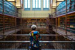 Library, Rijksmuseum Amsterdam (David Allen's Photostream) Tags: rijksmuseum amsterdam library fujixt123mmf14 nationalgeographic ponder wonder