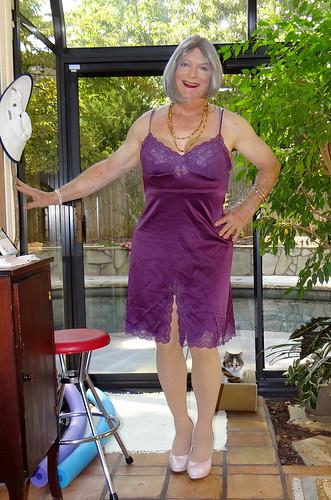 Mature women in slips