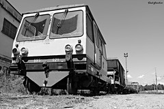 Stazione certosa (Giussago) (dado.gianluca) Tags: canon bianco nero