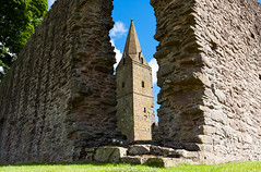 Restenneth Priory 13 August 2016-006.jpg (JamesPDeans.co.uk) Tags: historicscotland church gb spire unitedkingdom architecture ruins scotland tower priory history angus britain steeple europe uk photography