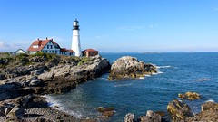 Portland Head Light (flannrail) Tags: lighthouse portland maine portlandheadlight cascobay