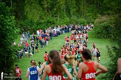 Runners (Dr. M.) Tags: runner runners race crosscountry xc xcracing xcrunning spectators nikon d7000 hills athletes athletics people fremont ohio