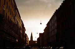 (Iana Messetchkova & Alessandro Venerandi) Tags: copenhagen denmark city streetphotography travelphotography filmphotography flaneur 35mm olympusom1 fujifilm filmisnotdead analogue dramatic sunset warm