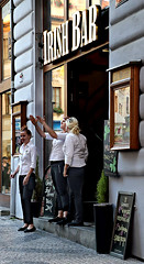 Dreaming of a pint of Guinness (goremirebob) Tags: prague irishpub bar restaurant guinness