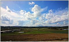 Saanich Peninsula (CanMan90) Tags: saanichpeninsula saanich farmlands fields clouds blue sky sunny september summer vancouverisland britishcolumbia cans2s canon rebelt3i canada