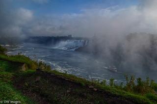 Niagara Falls Fogged