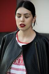 Hourglass. (Shuttersouls) Tags: girl portrair nikon fashion lipstick portrait mexico femenine street streetphotography