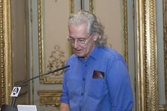 Bruno Montane, escritor (Casa de Amrica) Tags: poesia guaraguao revista cultura mariocampaa antoniogamoneda madrid espaa latinoamerica iberoamerica americalatina casaamerica casamerica casadeamerica poetas escritores