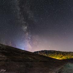 Caucasus / Georgia / Sioni Lake (Pablo A. Ferrari) Tags: pabloferrariphotography caucasus georgia sky stars milkyway vialactea estrellas forest bosque sioni caucaso