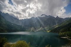 Morskie Oko (jacek.staszczuk) Tags: nikond7000 sigma1020456 polarizingfilter polska poland montain lake jezioro gry tatry clouds chmury wrzesie september