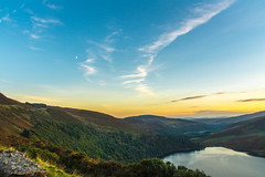 Sunset Lough Tay (burgootim) Tags: ireland sony lough tay sunset autumn landscape water