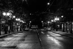 Public Market Early Morning_B&W (eph2810) Tags: morning light seattle clickaway bw pikeplace