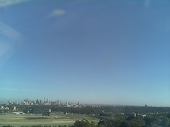Sydney 2016 Oct 21 07:43 (ccrc_weather) Tags: ccrcweather weatherstation aws unsw kensington sydney australia automatic outdoor sky 2016 oct earlymorning