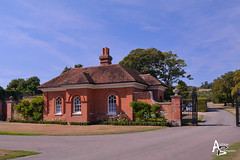Godmersham Park Gatehouse (andrewb_photography) Tags: kent godmersham