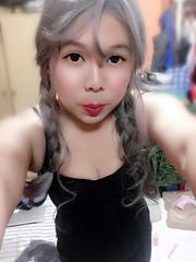 New hairdo! (xiaostar01) Tags: sissyboy 女裝 女裝男子 男の娘 偽娘 mtf crossdresser