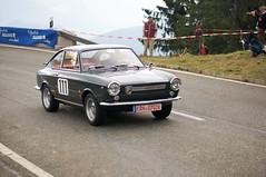 Fiat Abarth 1000 (PWeigand) Tags: 2015 bayern berchtesgaden edelweissclassic fiatabarth1000 oldtimer rosfeldrennen deutschland
