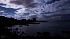 Portencross Castle (billycouparphotography) Tags: castle ayrshire moonlight