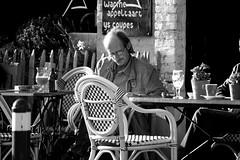 Same bar, a cup of coffee and the news (Ondeia) Tags: world people coffee bar persona uomo worldwide sedia caffè leggere anziano giornale pelato