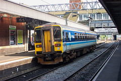 153334 - Nuneaton (richa20002) Tags: diesel ct class multiple unit 153 dmu