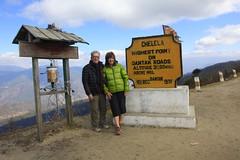 Chele La Pass (outlandertravels) Tags: travel mountain beautiful happy cycling la dragon bhutan pass picture land vehicle thunder chele