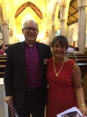Georgette was introduced at the Forward in Faith Conference by Bp. Chris Edwards of the Northern Region of the Sydney Diocese.
